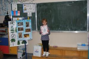Wyróżnienie w Wojewódzkim Konkursie na Kartkę na Boże Narodzenie.